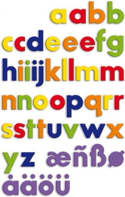 Pieniä magneettisia kirjaimia (054628)