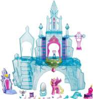 Nukkekodit : My Little Pony Crystal Empire linna - Equestia Explore Playset B5255