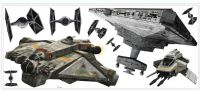 Seinätarrat : Star Wars Rebels & Imperial Ship Seinätarrat - Wallsticker star wars 002657